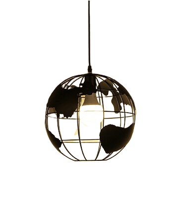 Farnåg Hanging Light Fixture Black