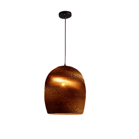 Fortfa Hanging Light Fixture Brown