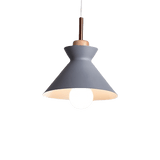 Genomb Hanging Light Fixture Gray