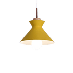 Genomb Hanging Light Fixture Orange