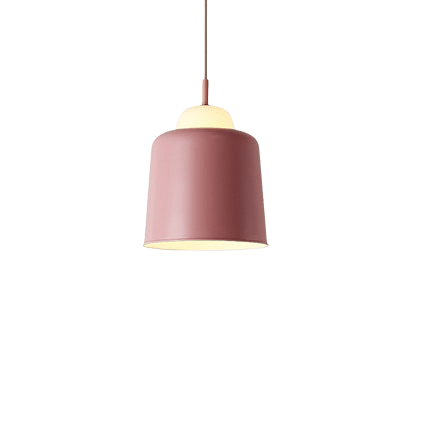 Honall Hanging Light Fixture Pink