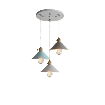 Inteme Hanging Light Fixture MultiColor