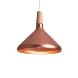 Komvis Hanging Light Fixture Copper