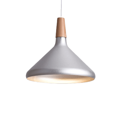 Komvis Hanging Light Fixture Silver
