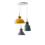 Hanging Lamp With 3 Bulbs - Låglin MultiColor