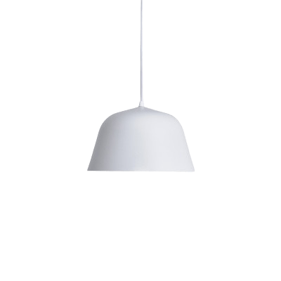 Migge Hanging Light Fixture White