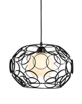 Hanging Light Fixture for Office Space - Morvär Black
