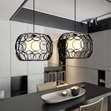 plug in pendant light morvar black 454