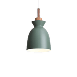 Namnmy Hanging Light Fixture Green