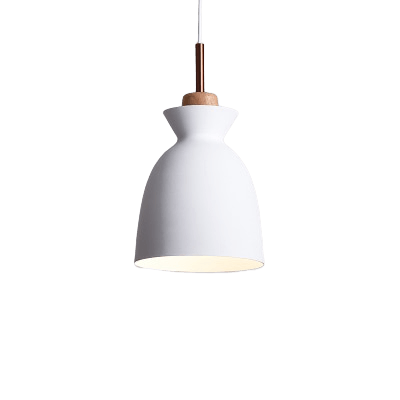 Namnmy Hanging Light Fixture White