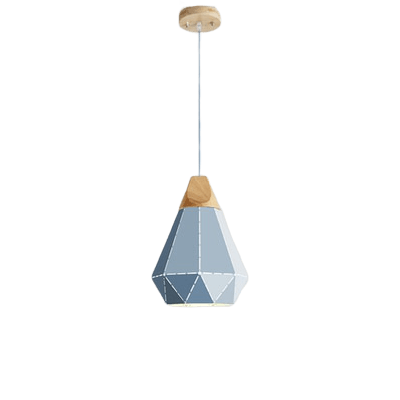 Nejmes Hanging Light Fixture Blue
