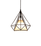 Hanging Light Fixture Black and White - Nyarbe Black & White