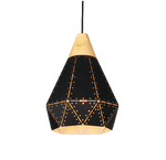 Ögaald Hanging Light Fixture Black