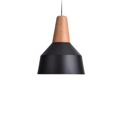 Hanging Light Fixture for Stairways - Pojkeg Black