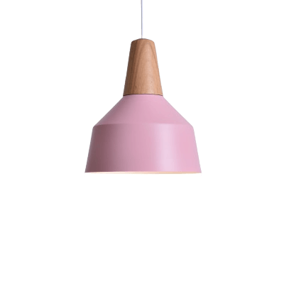 Hanging Light Fixture on Sloped Ceiling - Pojkeg Pink