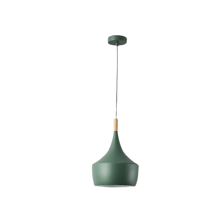 Sakse Hanging Light Fixture Green