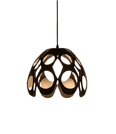 Självj Hanging Light Fixture Black