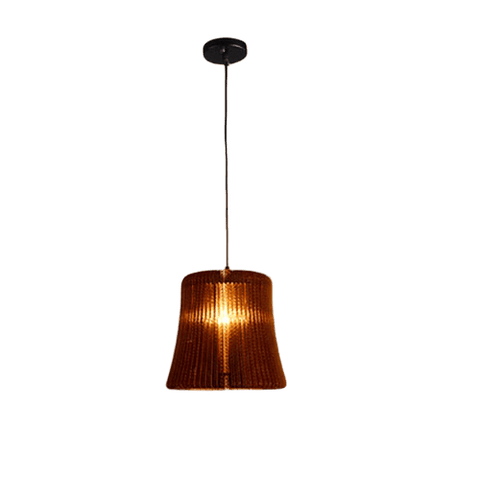 Ståege Hanging Light Fixture Brown