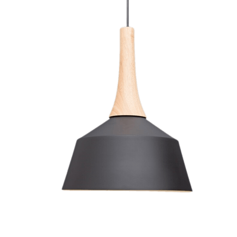 Hanging Light Fixture Off Center - Vårenl Black