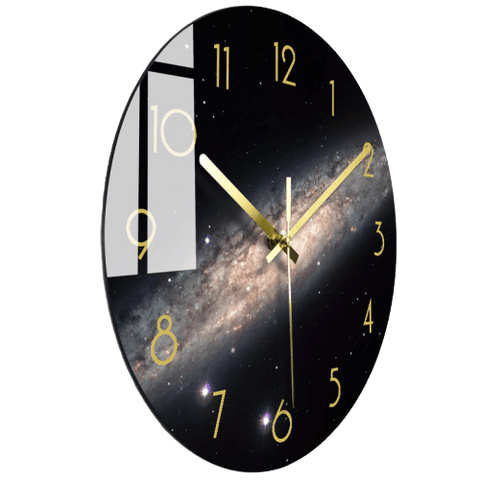 Bästti Large Modern Wall Clock Glass