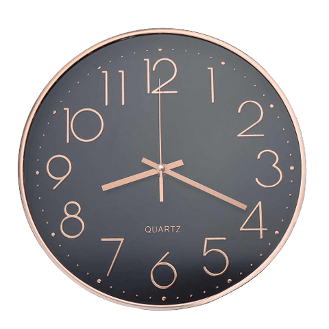 Femmin Large Modern Wall Clock Gold