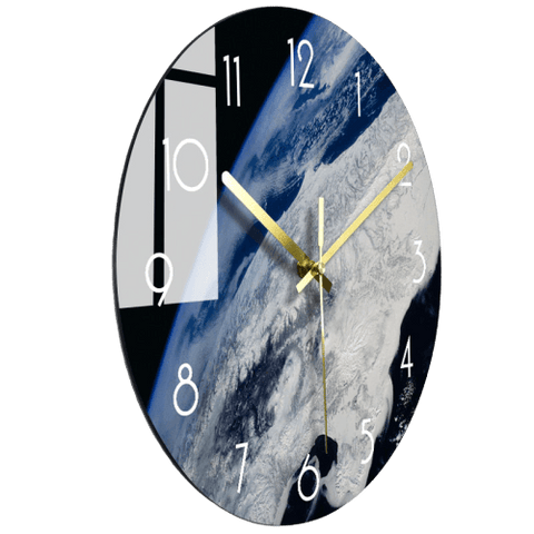 Produc Large Modern Wall Clock Glass