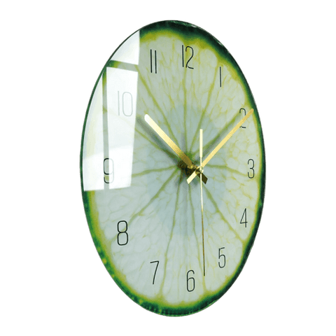 Starks Large Modern Wall Clock Glass