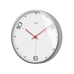 bära Large Modern Wall Clock White