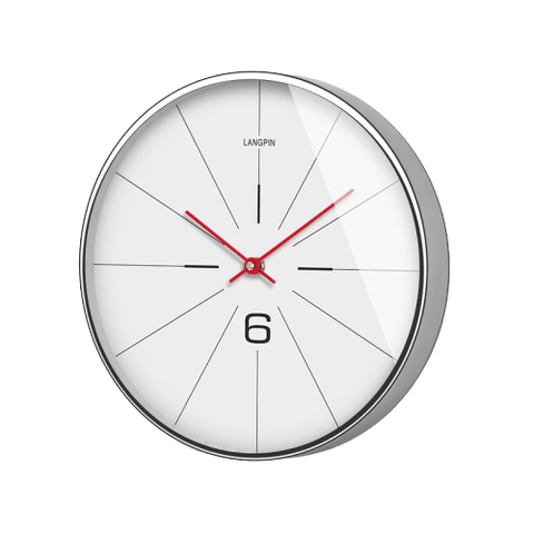 några Large Modern Wall Clock White