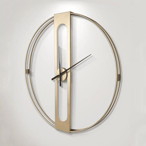tog Large Modern Wall Clock Gold