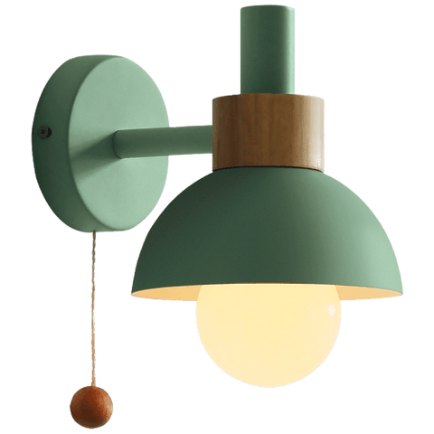 Ändesä Green - Wall Light With Pull Switch