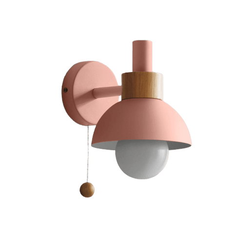 Ändesä Light Fixture On Wall Pink