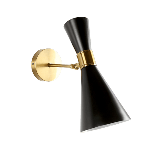 Andrav Black - Gold Wall Light