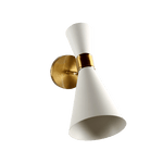 Andrav White - Gold Wall Sconce