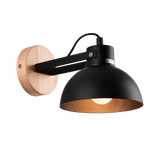 Avtill Light Fixture On Wall Black