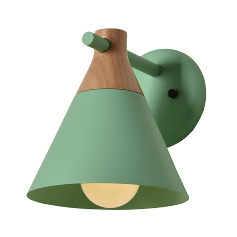 Bilden Green - Colorfull Modern Wall Sconce