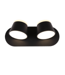 Derast Light Fixture On Wall Black