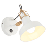 Genomh Light Fixture On Wall White