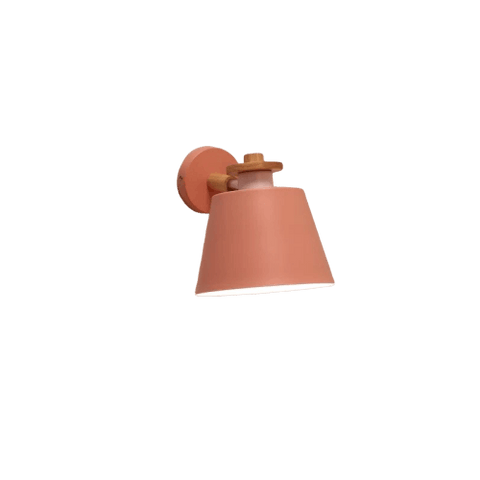 Hadede Light Fixture On Wall Pink