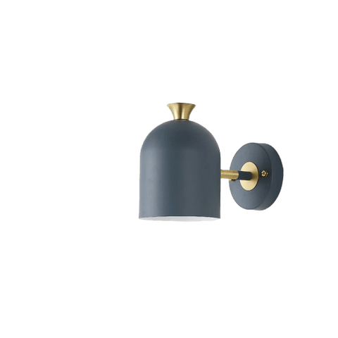 Jaghan Light Fixture On Wall Navy-Blue