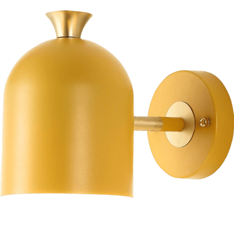 Jaghan Yellow - E27 Wall Light