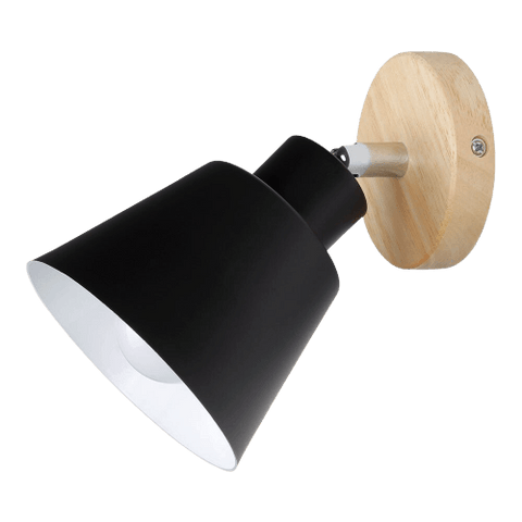 Mänför Black - Wall Sconce For Stairwell