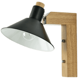 Ordmen Light Fixture On Wall Black