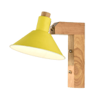 Ordmen Light Fixture On Wall Yellow