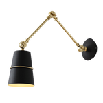 Slagof Black - Swing Wall Light Design With Arm
