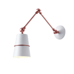 Slagof White - Swing Arm Wall Sconce