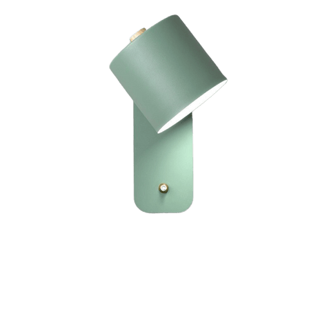 Spelal Light Fixture On Wall Green