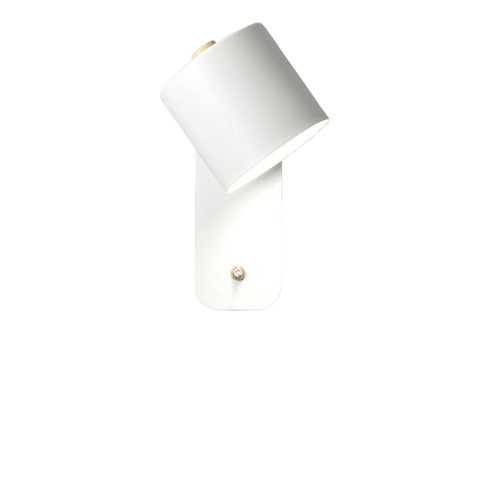 Spelal Light Fixture On Wall White
