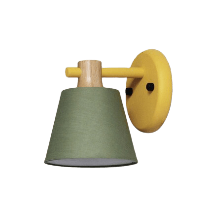 Villlu Green - Light Fixture For Wall Mount