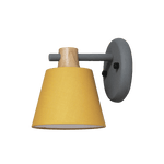 Villlu Light Fixture On Wall Yellow
